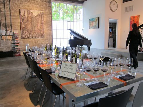 750wines in St. Helena is a beautiful space to taste small-production wines and set up appointments at some of Wine Country's best boutique wineries.