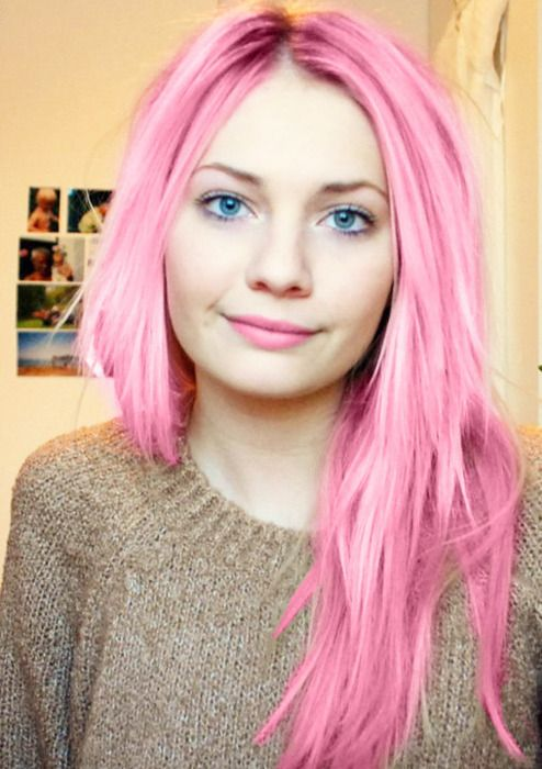 Ladies... Pink pastel hair: Some love and some think it's tacky! Would you dye your hair pink? #pinkhair