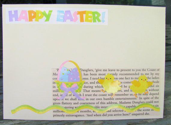 Easter Basket  handmade card FWB easter card by RogueKissedCraft