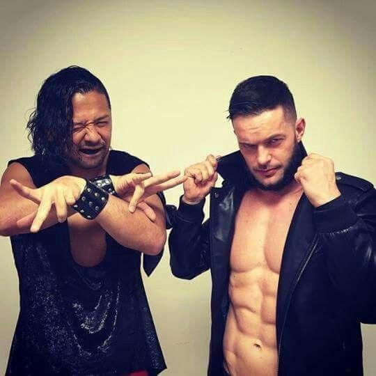Shinsuke Nakamura and Finn Balor