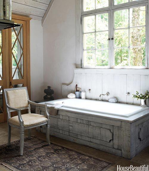 Rustic Farmhouse Bathroom Ideas: 95 Best Images About Rustic- Bathroom Decorating Ideas On