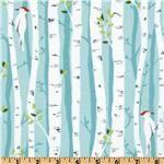 •Birch Trees  Backyard Baby