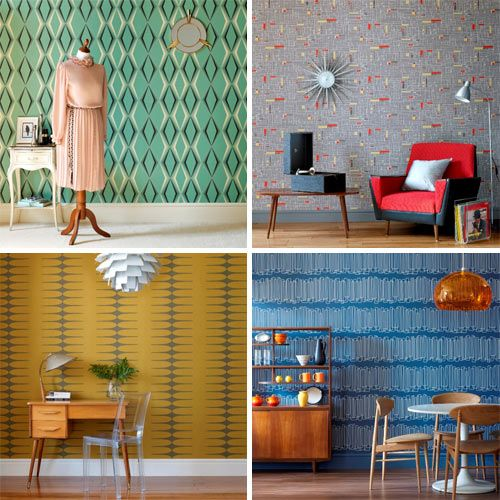 Vintage by Hemingway Design is a new collection from Graham & Brown created by renowned retro designers, Wayne and Gerardine Hemingway.