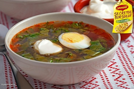 Romanian soup with eggs // Ciorba cu ochiuri romanesti -> https://www.facebook.com/photo.php?fbid=394032697336826=a.365257290214367.82687.287189181354512=3=1