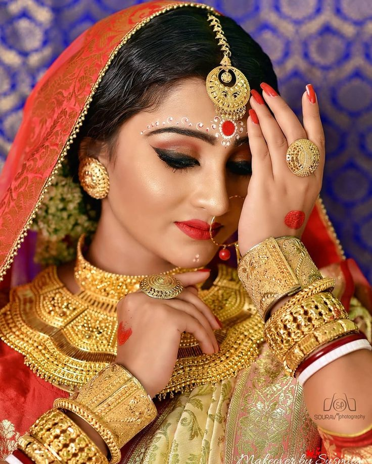 Pin by Snigdha Singh on Indian bridal in 2019 | Beautiful ...