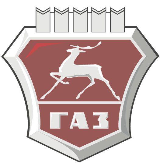 GAZ car logos