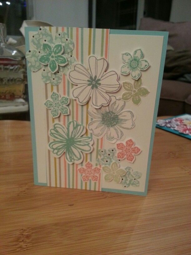 Flower shop and petite petals. 14/16 in colours. Stampin up.