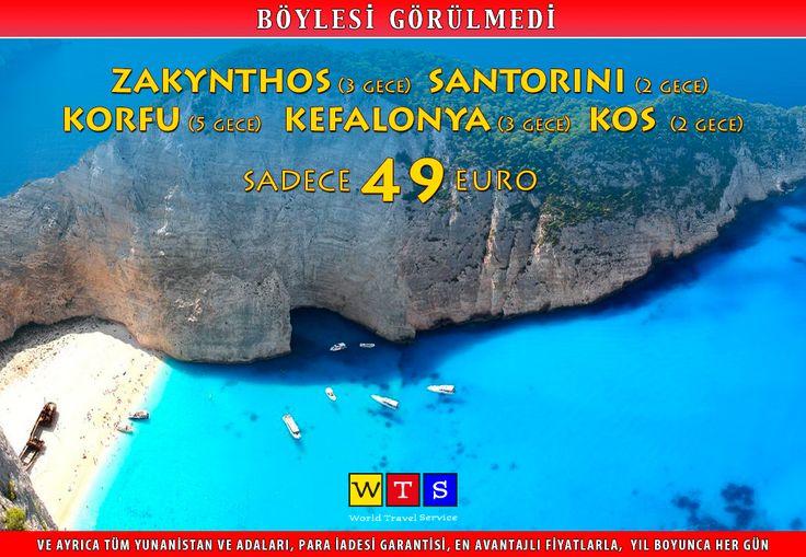 #WTSile yıl boyunca gecesi 19 €'dan #YunanAdaları 'nı keşfedin!