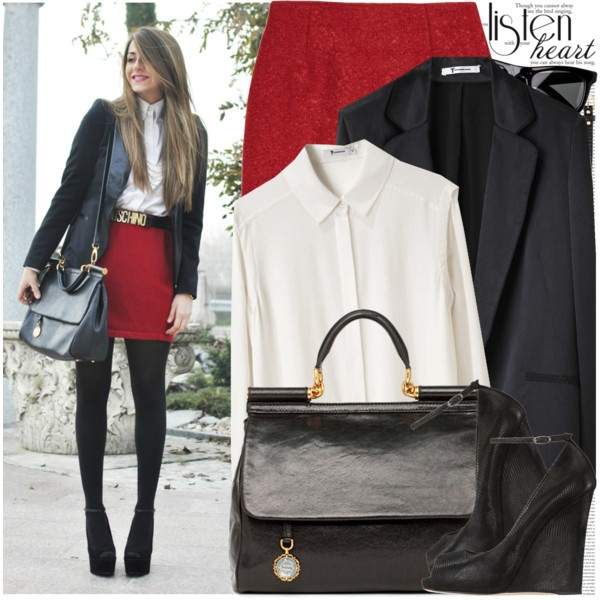 CUTE business outfit  OMG THIS IS CUTE. I like it. :3