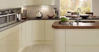 Gloss White/Cream Kitchens
