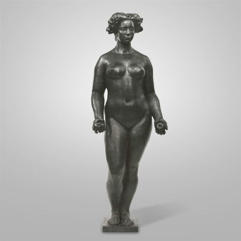 Collection Online | Aristide Maillol. Pomona with Lowered Arms (Pomone aux bras tombants). 1937 - Guggenheim Museum