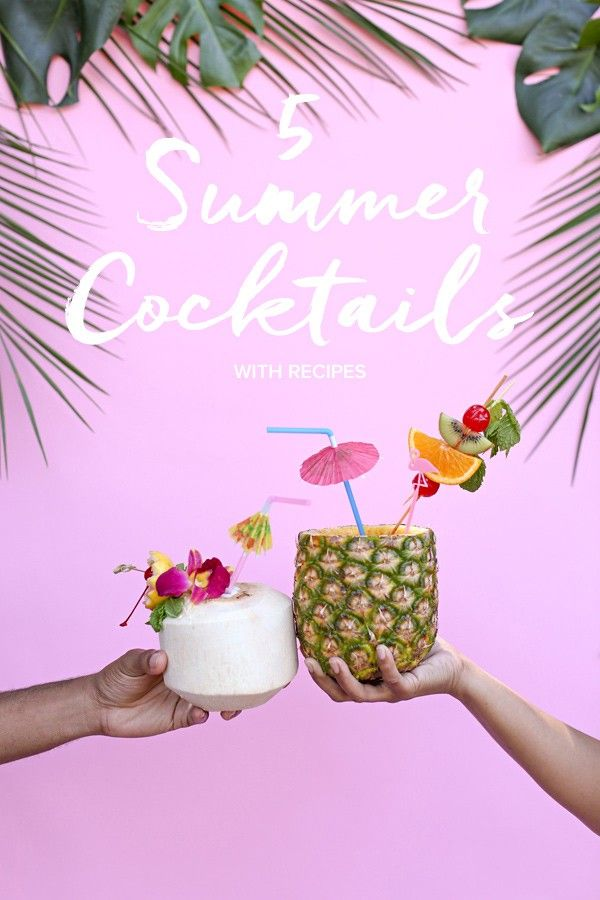 5 delicious summer cocktail recipes