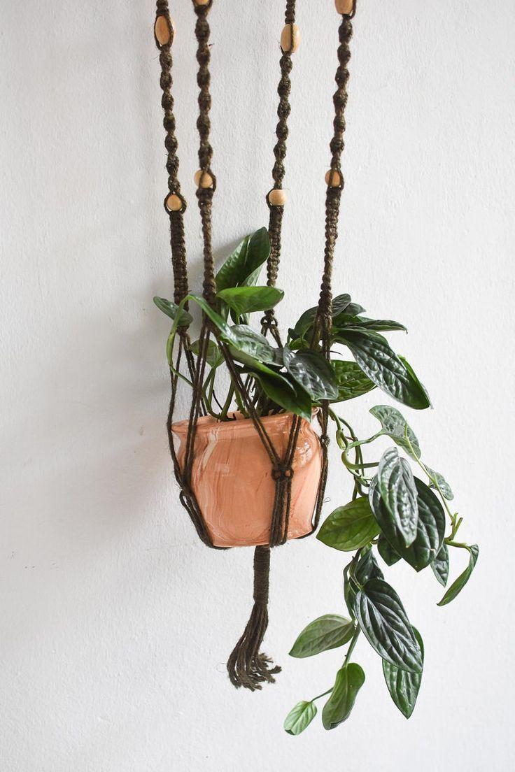Vintage Macramé plant hanger