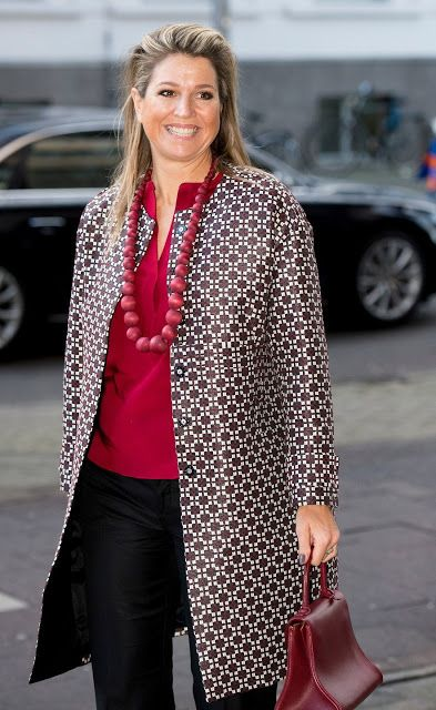 Queen Maxima of The Netherlands attends for the Social Powerhouse Symposium Serious Social Value on February 4, 2015 in Utrecht, The Netherlands. The symposium will focus on social values and social entrepreneurship in society.
