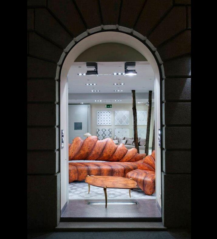 Showroom Window... just a preview... step inside! #SICIS #Showroom #Milan #mosaic #Art