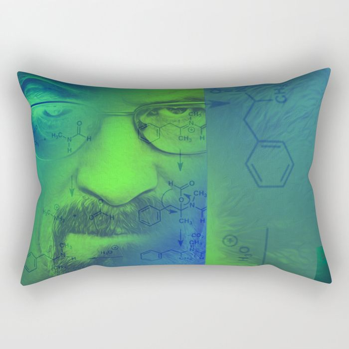 20% OFF Pillows Today! Breaking Bad Rectangular Pillow by scardesign. #breaking #bad #pillow #livingroom #homedecor #home  #chemistry #walterwhite #iamthedanger #letscook  #breakingbadgifts #dorm  #breakingbad #cool #awesome #tvshow #gifts #teen #bedroom #giftideas #geek #nerd #nerdgifts #science #chemist