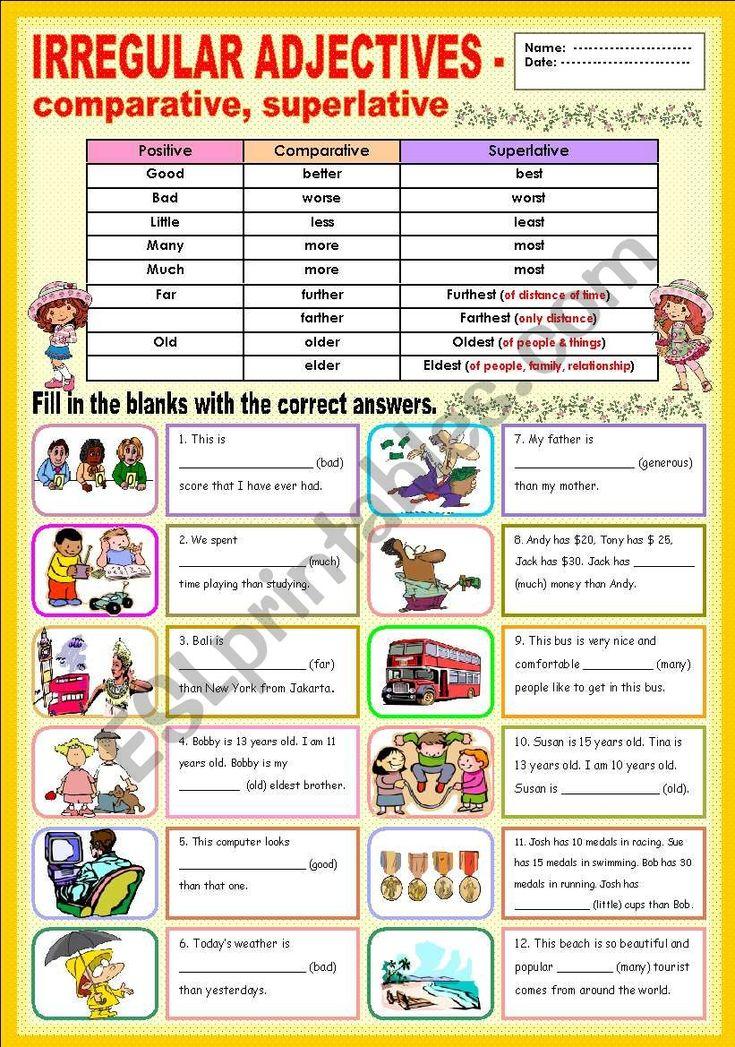 Esl Students Worksheets Beginners