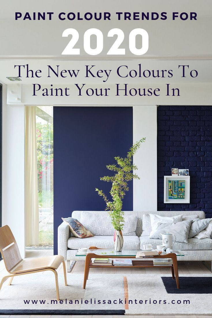 Paint Colour Trends For 2020 The New Key Colours To Paint Your