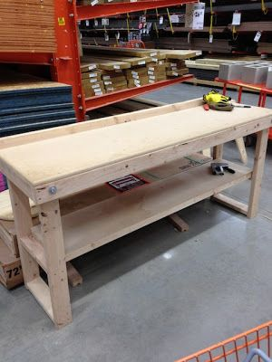 my first craftsman workbench assembly instructions