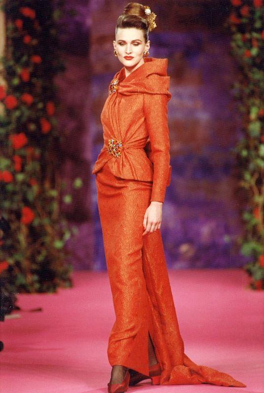 Fall-Winter 1990 Haute Couture Christian Lacroix
