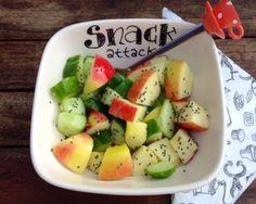 Appel-komkommer salade