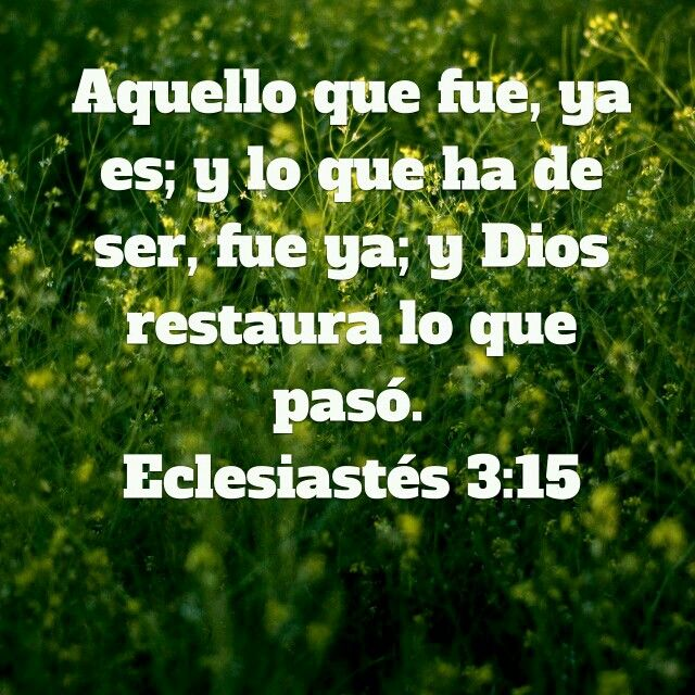 Ecles 3:15