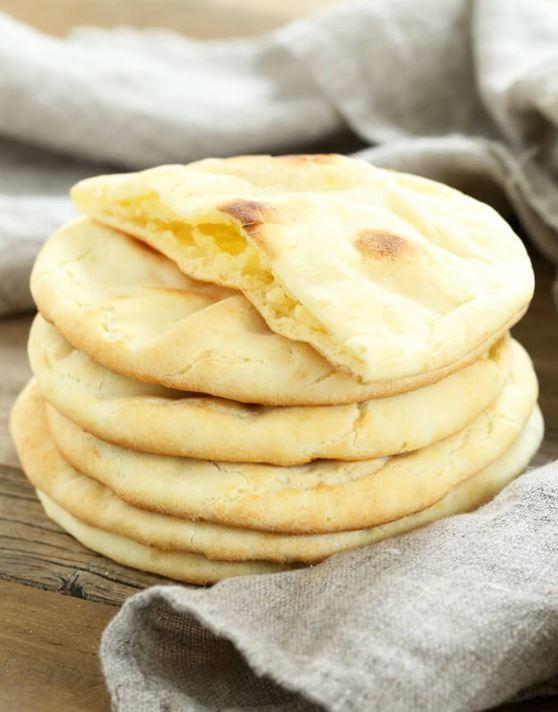 Gluten Free Pita Bread Recipe   Make your own gluten free pita for lunches!
