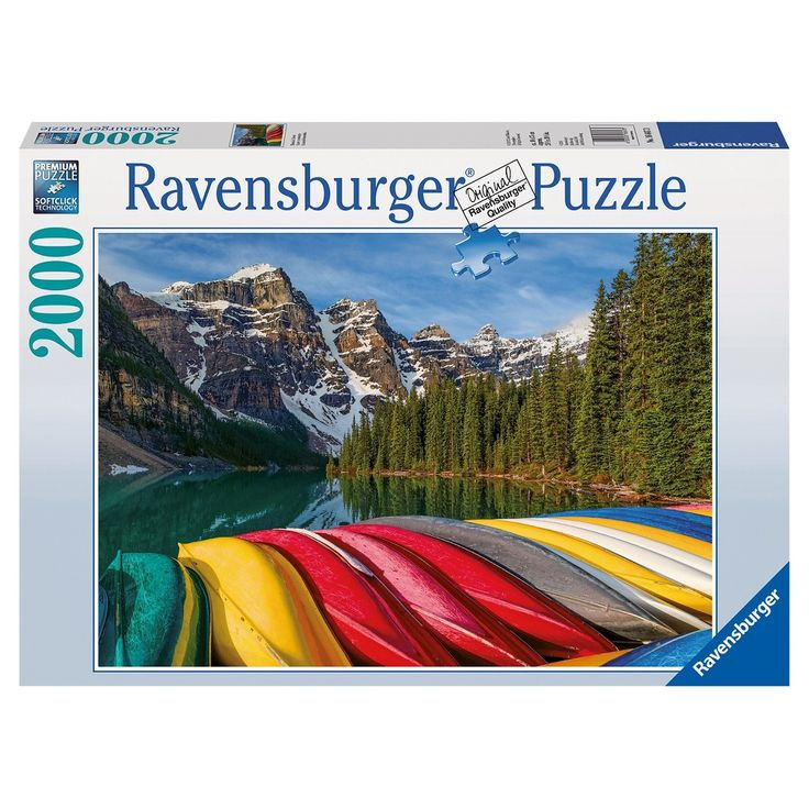 Ravensburger Mountain Canoes Puzzle - 2000 Pieces