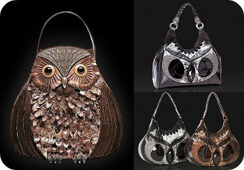 VIDA Statement Bag - SCREECH OWL by VIDA wWAjSy