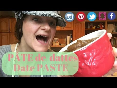 How To Replace White Sugar with Date Paste. // Comment remplacer le sucre blanc avec les dattes.