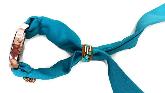 Womens Turquoise Jewelry Art Watch Wrist by HarmonyHourWatches