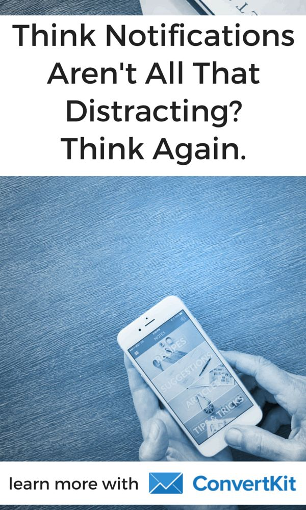 Ever wondered just how distracting push notifications are? Find out the true cost of always being connected and task switching.