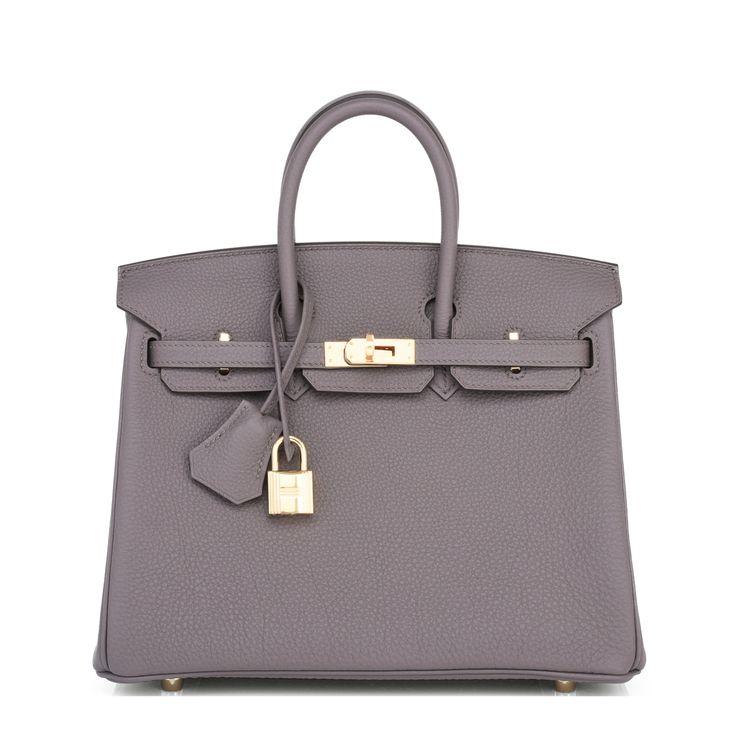 #Hermes #Birkin #Bag Etain Togo Gold Hardware