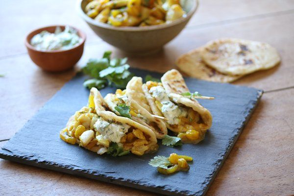 """Cape Malay Pickled Fish """"Tacos"""""""