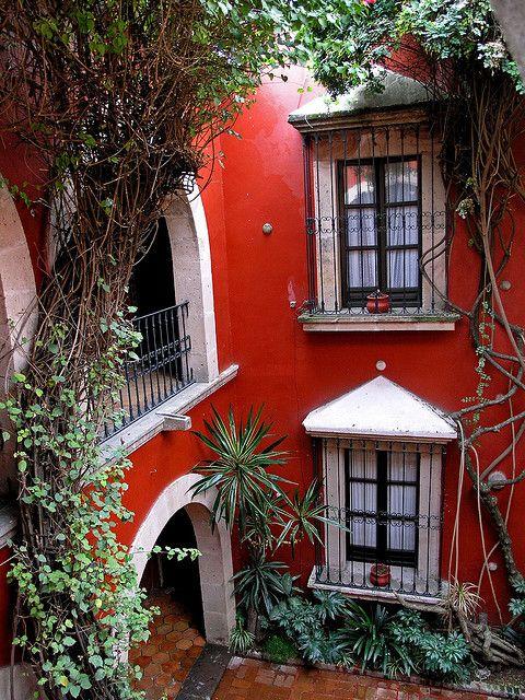 Hotel De La Soledad in Morelia, Michoacán. México