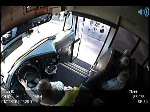 Driver speed past Graham school bus, nearly hits 3 kids by Nicole Papado...