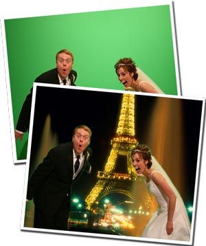 Green Screen Photo Booth Rental | Wedding Photo Booth | All-stars Photobooths Pittsburgh | All-Stars Event Services