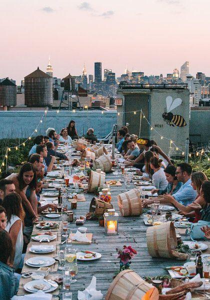 763 best entertain images on Pinterest Outdoor dinner parties