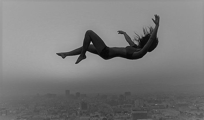 Falling Down Falling Down Sky Art Girl Falling