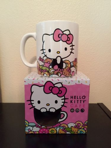 Nib sanrio #hello #kitty cafe mug - food truck #exclusive, View more on the LINK: http://www.zeppy.io/product/gb/2/172267246756/