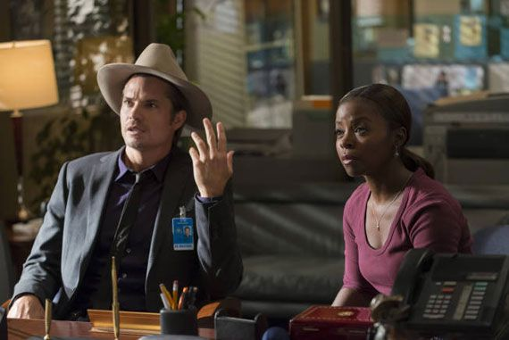 """Justified, Season 4, Episode 4: """"This Bird Has Flown"""" Written by Taylor Elmore Directed by Bill Johnson Airs Tuesdays at 9pm ET on FX Justifiedis about a lot of things, but one aspect of the show that often gets overlooked is its nuanced take on masculinity, and its subtle rewriting of the Lone Gunman ethos. [...]"""