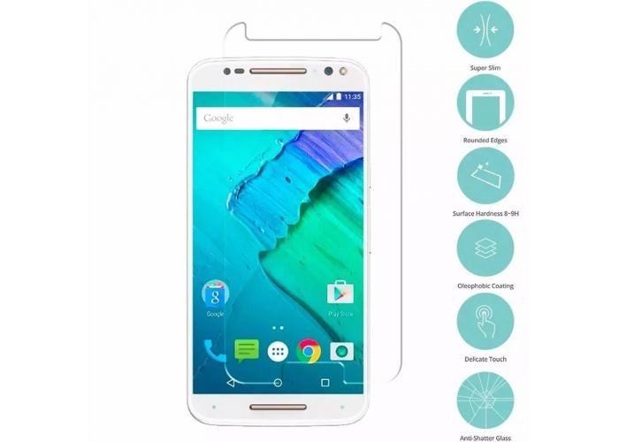 Guili Guili Fundas y Accesorios Para Smartphone: Mica Cristal Templado Moto X Style Gorilla Glass 9H - Kichink