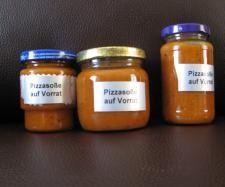 Rezept Pizzasoße auf Vorrat von Tina 1964 - Rezept der Kategorie Saucen/Dips/Brotaufstriche