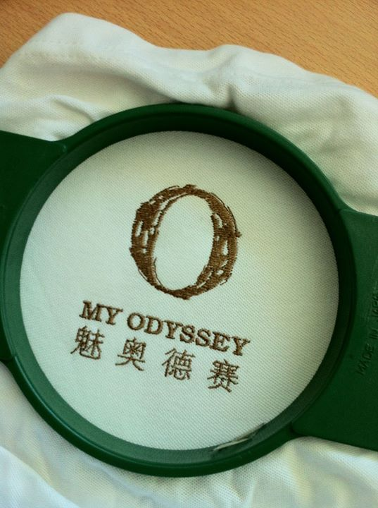 Polo t- shirt embroidery,  my odyssey