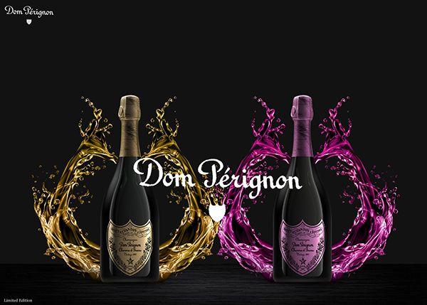 Dom Pèrignon by Riccardo Ferro, via Behance
