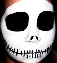 Tips on how to Apply Jack Skellington cranium Halloween make-up