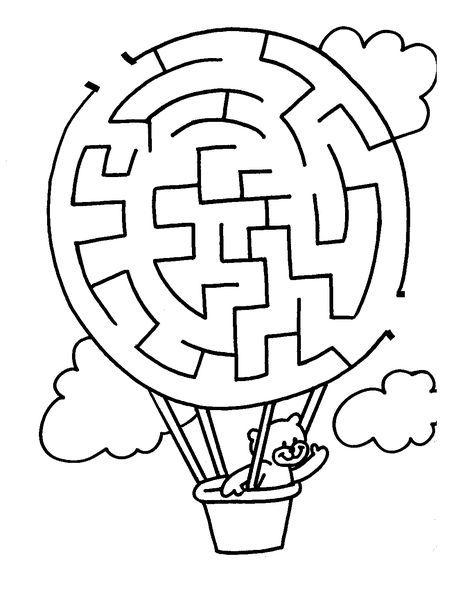 Free Printable Mazes Kids Mazes For Kids Printable Mazes For