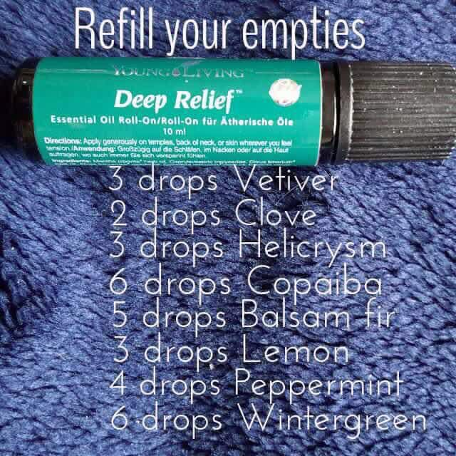 Young living deep relief recipes