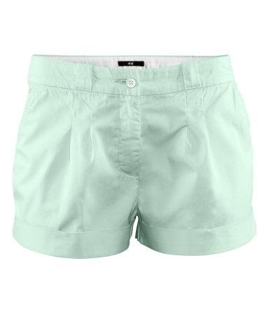 H mint shorts
