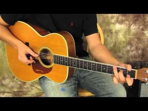 martyzsongs: Paul Simon Inspired Acoustic Guitar Finger Picking Pattern for Easy Beginner.
